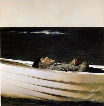 ANTREW  WYETH Adrift, 1982