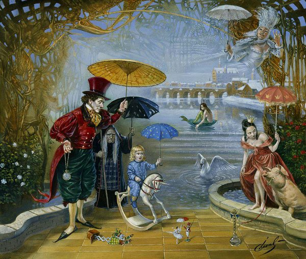 Michael cheval dream-flood-in-fairyland-h-c-andersen