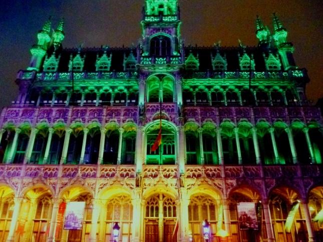 NOEL: Bruxelles, Grand Place (25.12.2012)