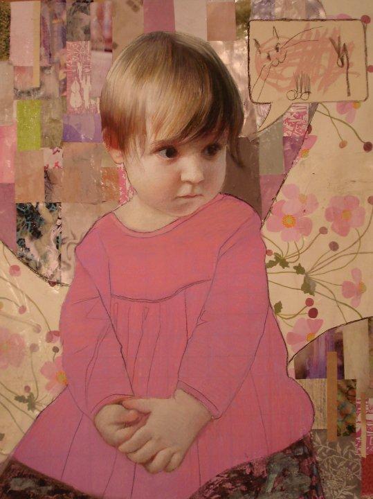 Ζωγραφική και κολάζ: Αnn Marshall