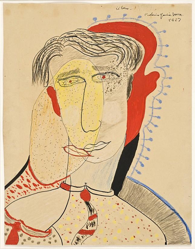 Federico-Garcia-Lorca-El-Beso-1927