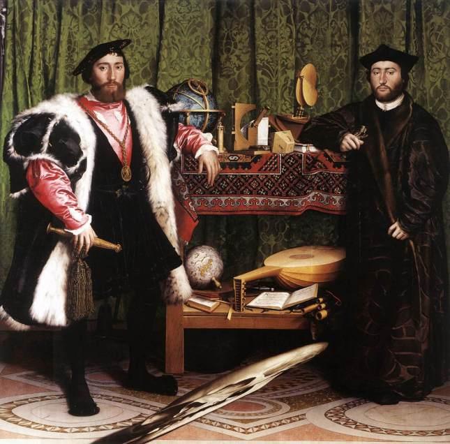 Ζωγραφική: Hans Holbein, Τhe Ambassadors