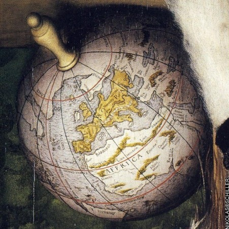 HOLBEIN the_ambassadors_map