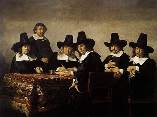 Jan de Bray The Regents of the Children's Orphanage in Haarlem