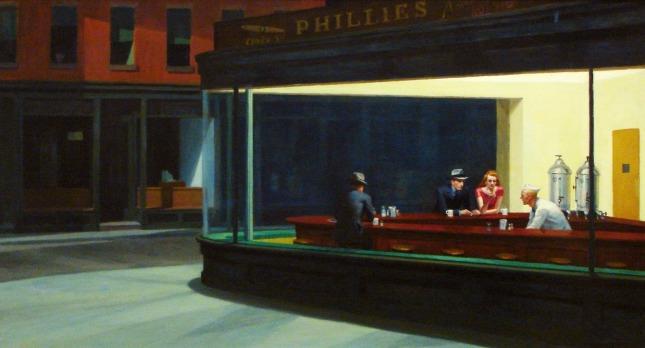 hopper Nighthawks (1942 - Edward Hopper)