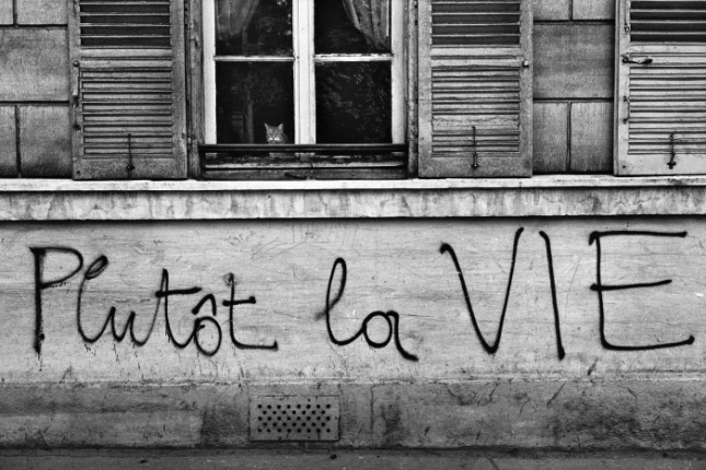 FRANCE, PARIS, MAI 1968, PLUTOT LA VIE