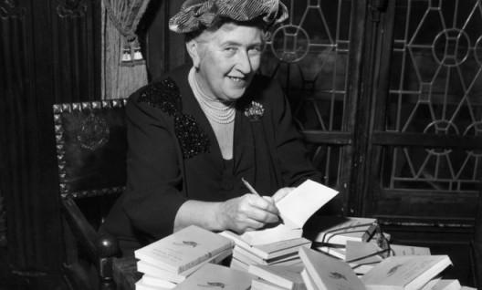 Tea time and Agatha Christie