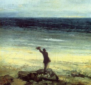 La spiaggia a Palavas, 1868