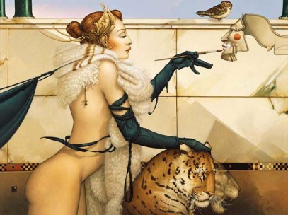 Michael Parkes -art